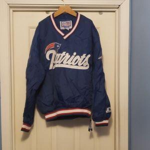 Vintage Patriots pro line jacket